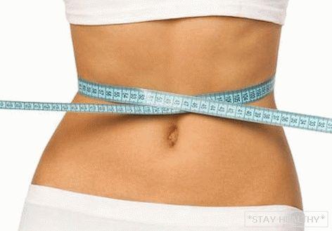 scăderea în greutate a lui)