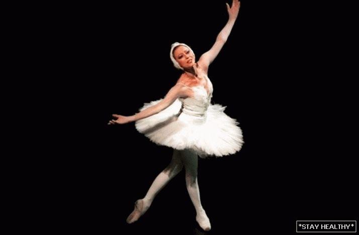 balerina pierdere în greutate înainte și după