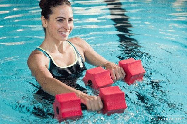 piscina pierde in greutate