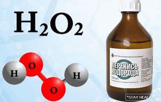 pierderea în greutate peroxid de hidrogen