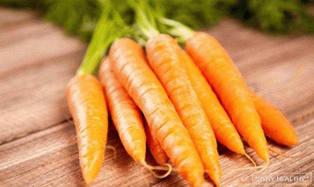 Dietă de morcovi - pierdeți greutatea corectă